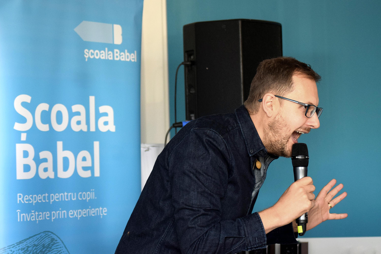 Alec Blenche la Școala Babel, Octombrie 2019